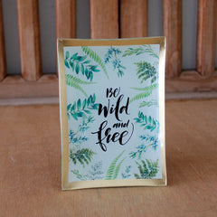 Be Wild and Free Leaf Dish - The Chic Nest
