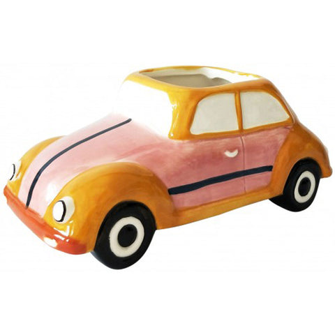 Beetle Bug Retro Car Planter
