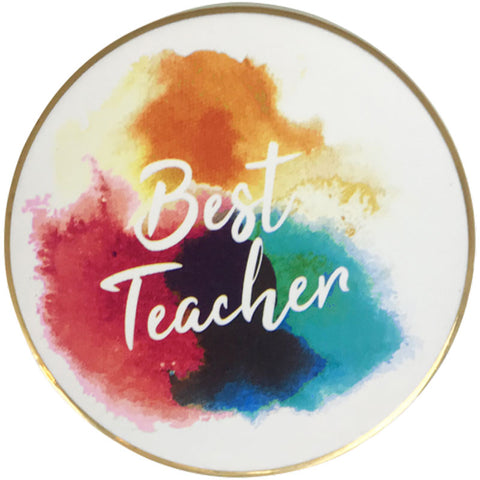 Best Teacher Coaster - The Chic Nest