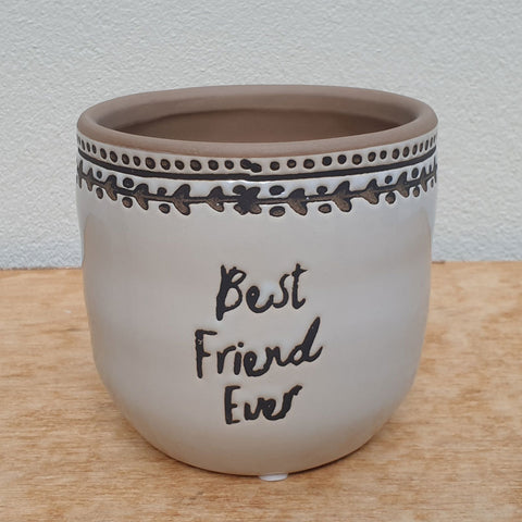 Best Friend Ever Planter - Large