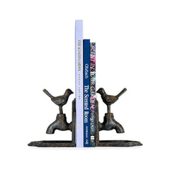 Bird On Tap Bookends - Set of 2