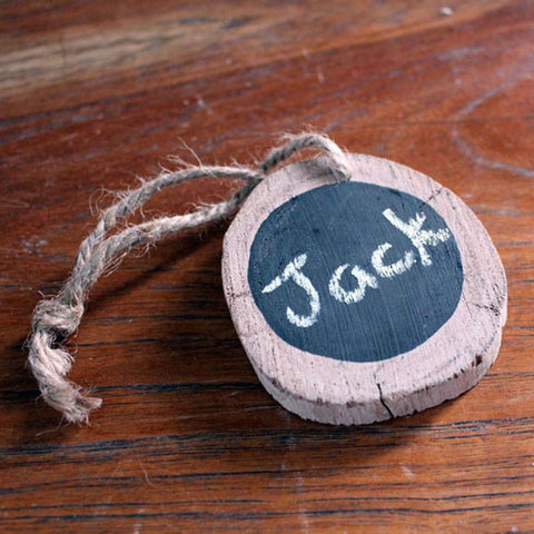 Blackboard Christmas Ornament - The Chic Nest