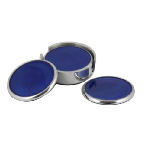 Blue Coasters Set of 6 - The Chic Nest