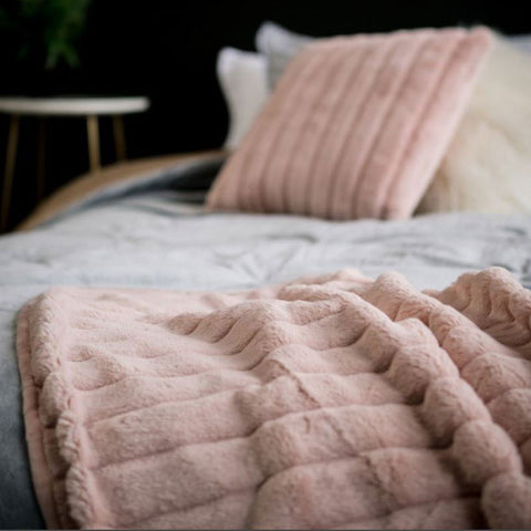 Plush Blush Cushion - The Chic Nest