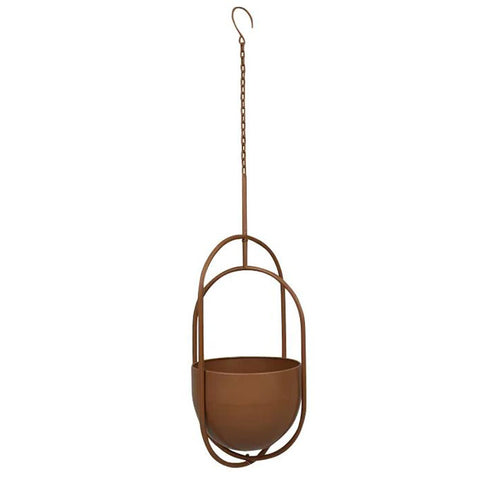 Bronze Metal Hanging Planter