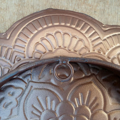 Bronze Table Top Tray/Wall Decor Large