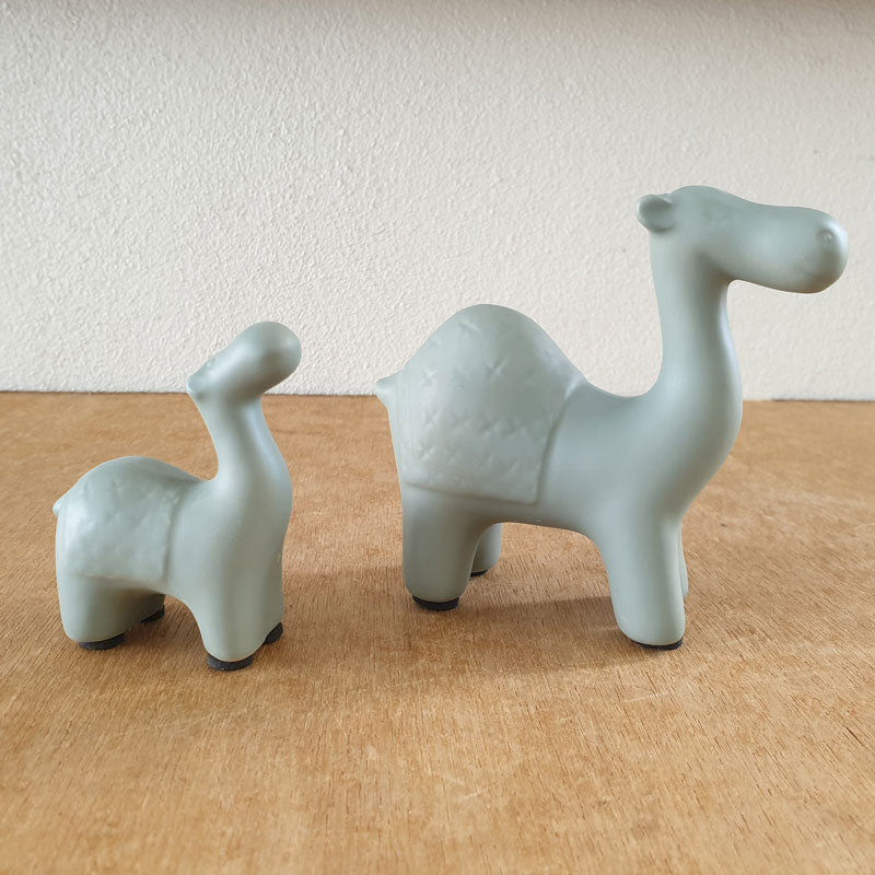 Sage Camel Figurine - Small - The Chic Nest