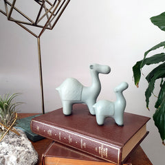 Sage Camel Figurine - The Chic Nest