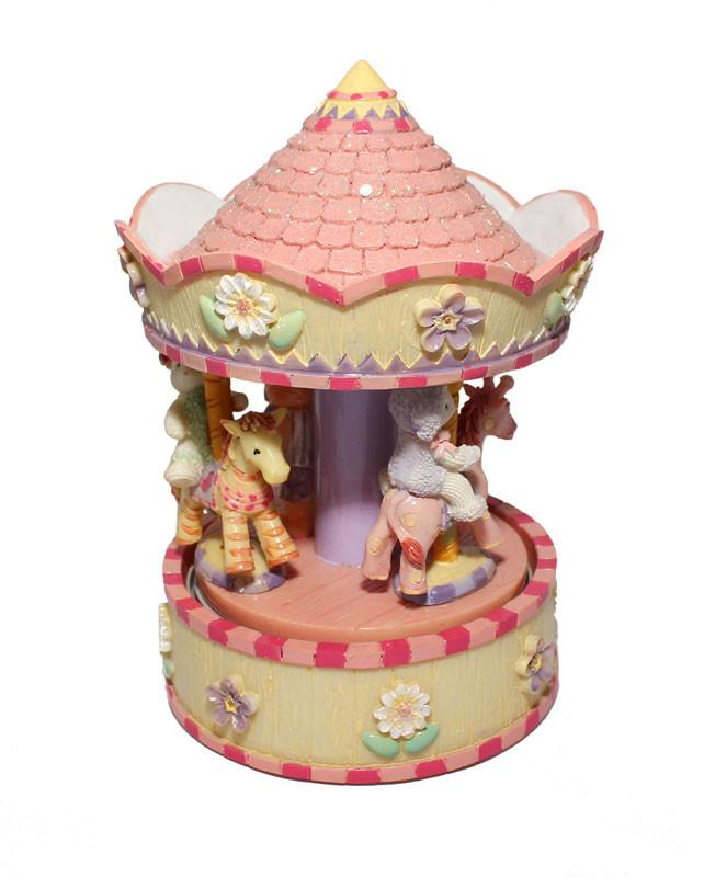 Carousel Musical Playtime Zoo Animals - The Chic Nest
