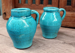 Ceramic Jug - Turquoise - The Chic Nest