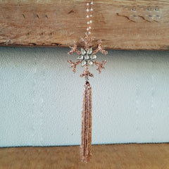 Tassel Beaded Ornament