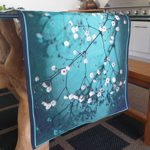 Cherry Blossom Table Runner - The Chic Nest