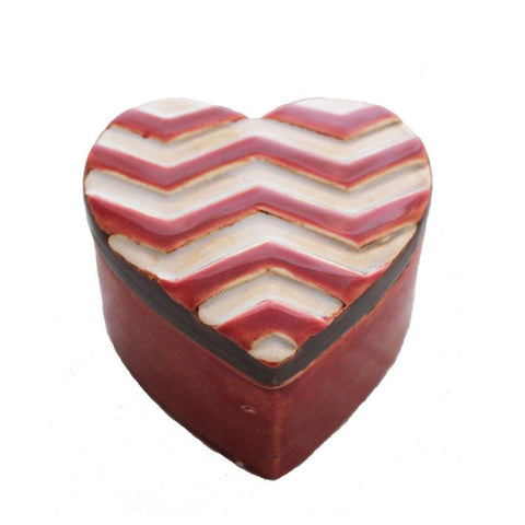 Chevron Trinket Box - The Chic Nest
