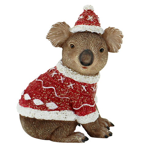 Christmas Koala Figurine - The Chic Nest