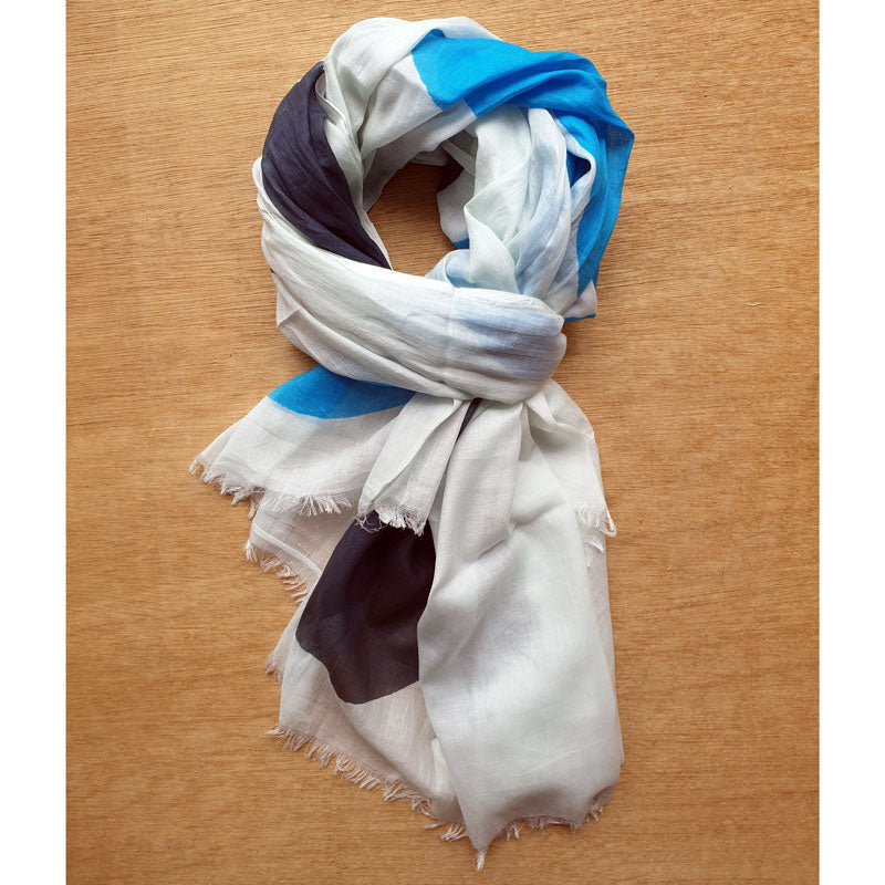 Circles Cotton Scarf - The Chic Nest