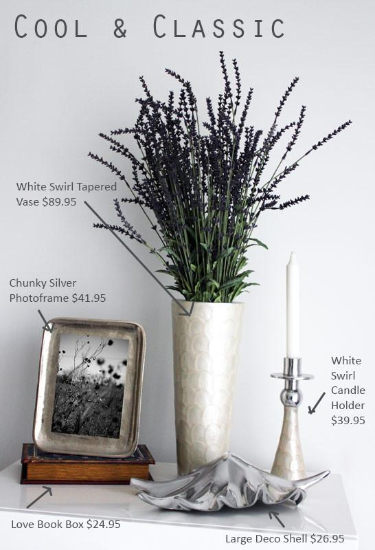 White Swirl Candle Holder - The Chic Nest