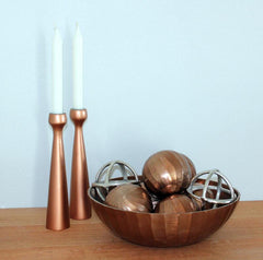 Candle Holder Copper - The Chic Nest