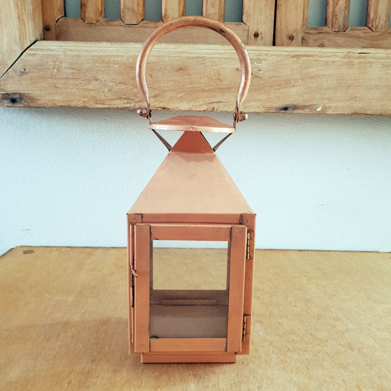 Handmade Copper Metal Lantern