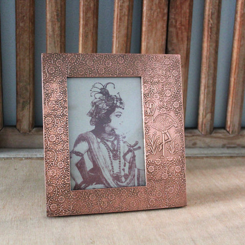 Copper Off Centre Photo Frame 5 x 7 - The Chic Nest