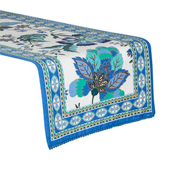 Corfu Table Runner - Handcrafted - The Chic Nest