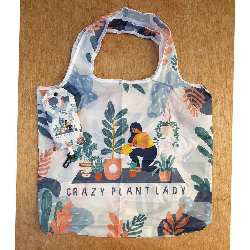 Crazy Plant Lady Shopping Bag