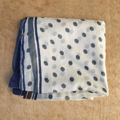 Cotton Dot Scarf