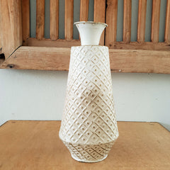 Diamond Gold Grey Vase 38cm - The Chic Nest