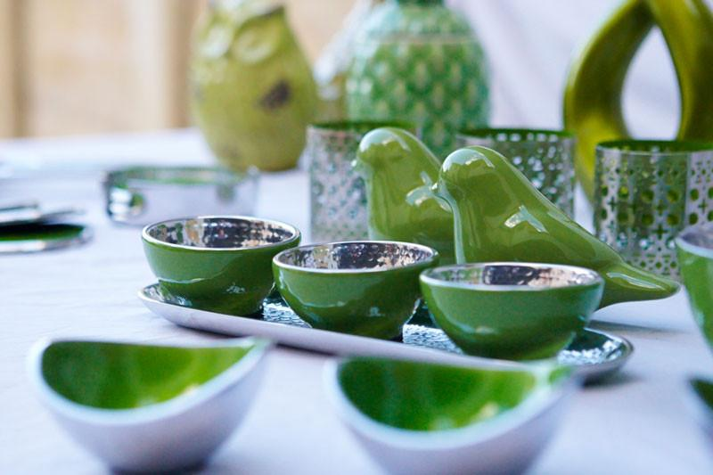 Keke Condiment Server - Lime - The Chic Nest