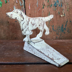 Dog Door Stop - Aged Finish