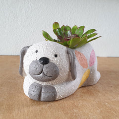 Ceramic Dog Planter - The Chic Nest