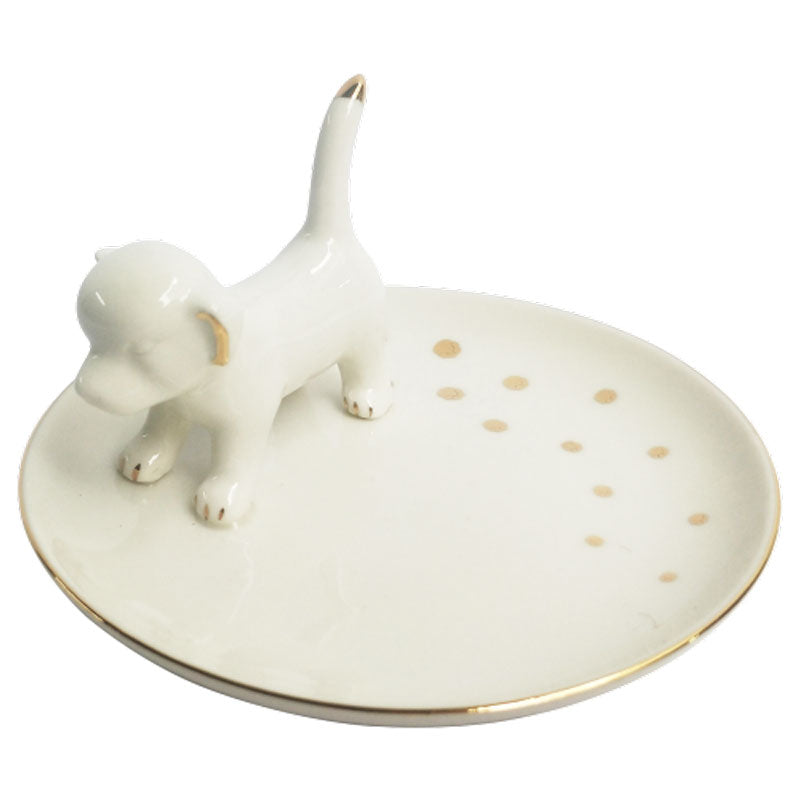 Standing Dog Trinket Dish - The Chic Nest
