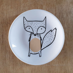 Dotted Fox Ceramic Trinket Dish - The Chic Nest