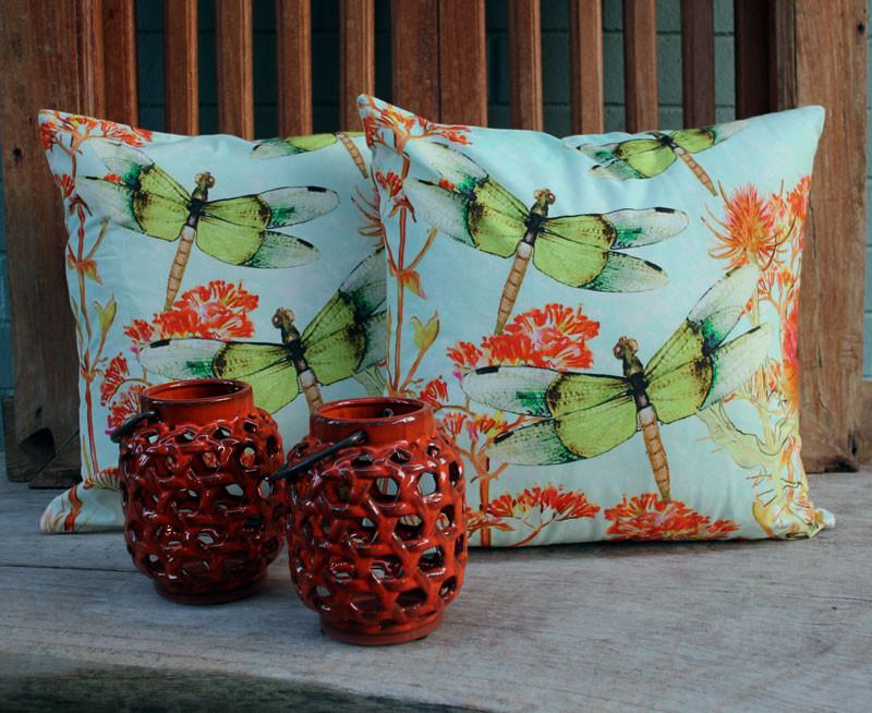 Dragonfly Cushion - The Chic Nest