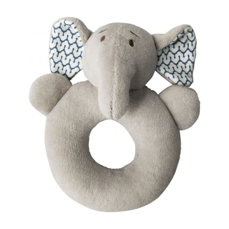 Elephant Rattle Ring - The Chic Nest