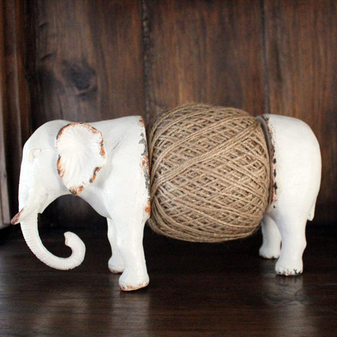 White Elephant String Holder - The Chic Nest