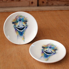 Emu Bright Round Trinket Dish - The Chic Nest