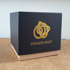 Endless Knot Gold - The Chic Nest