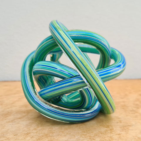 Endless Knot Blue Green