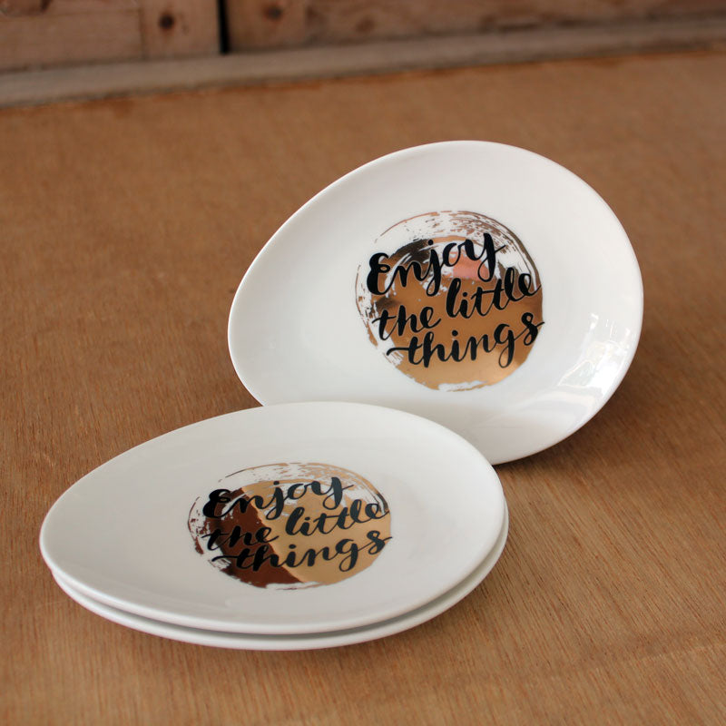 Enjoy the Little Things Trinket Dish - The Chic Nest