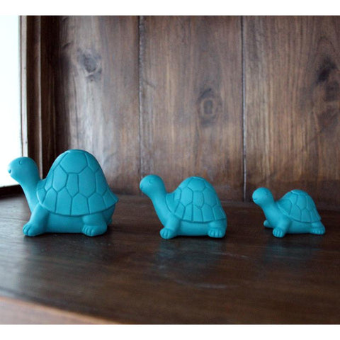 Family of Turtles - Turquoise - The Chic Nest
