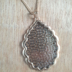 Filigree Gold Necklace - The Chic Nest
