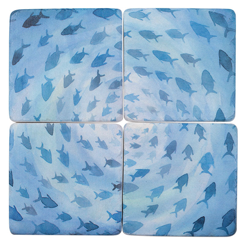 Fish Set of 4 Coasters