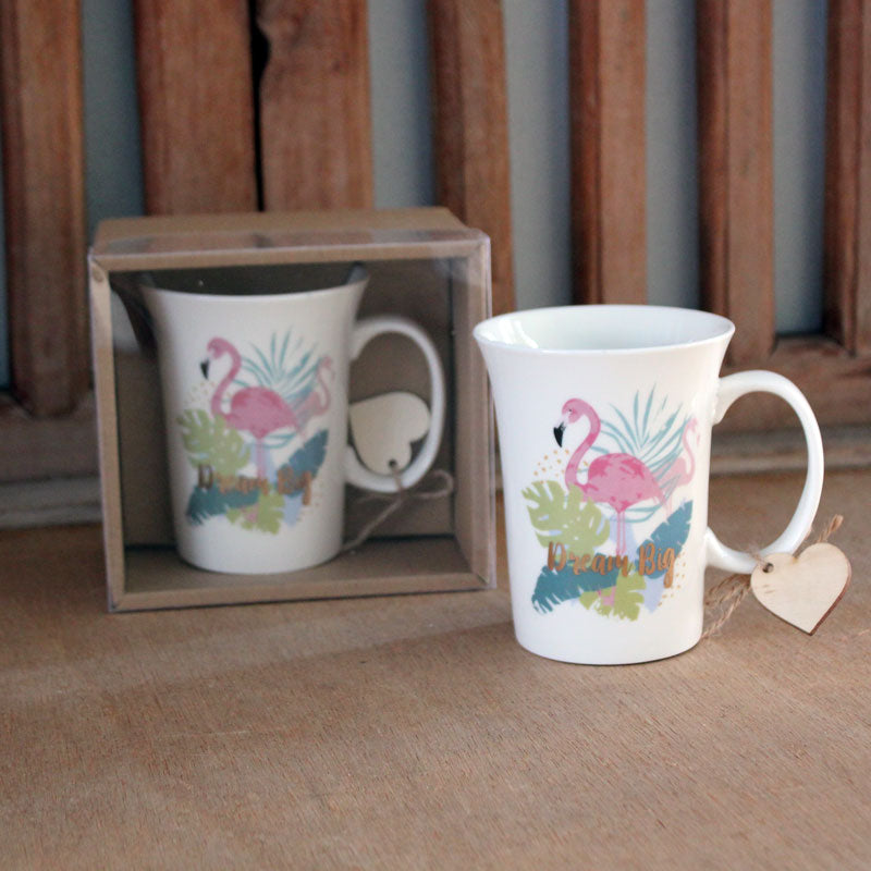 Flamingo Gift Boxed Mug - The Chic Nest