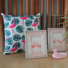 Flamingo Cushion - The Chic Nest