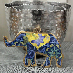 Flower Elephant Ornament - The Chic Nest