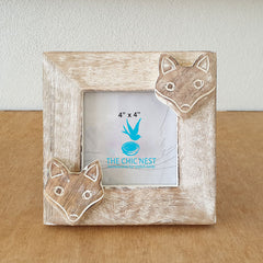 Fox Wooden Photo Frame - The Chic Nest