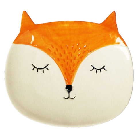 Fox Ceramic Trinket Dish - The Chic Nest
