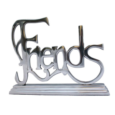 Friends Word Sign