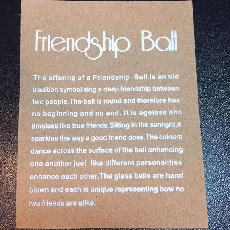 Friendship Ball Blush Pink - The Chic Nest