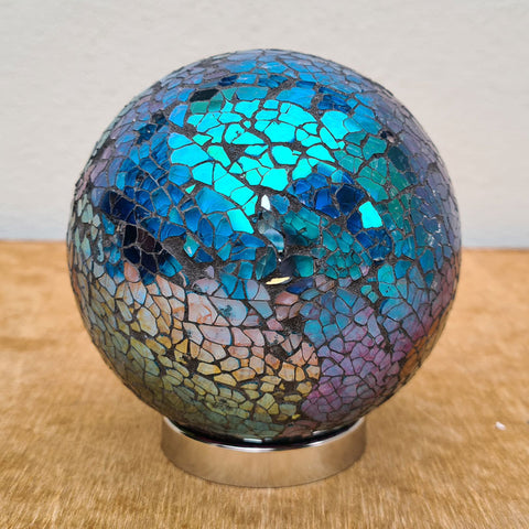 Friendship Ball Aqua Mosaic Sparkle